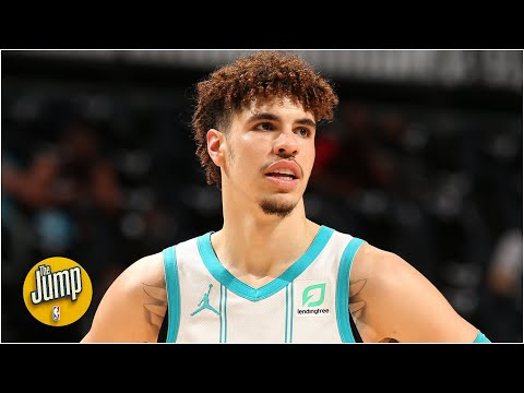 Perk calls LaMelo's full-court pass the best pass he's seen in 10 years | The Jump