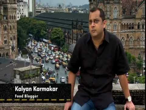 Kalyan Karmakar in Street Foods International - Mumbai.mpg