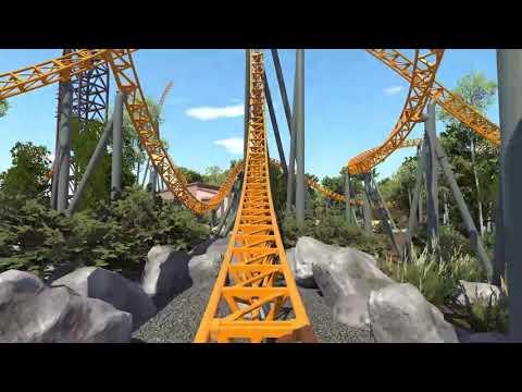 Dreamworld's New Rollercoaster