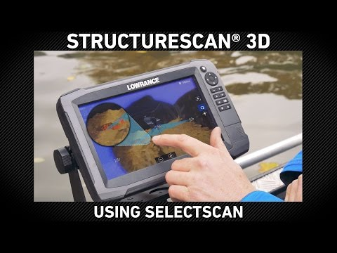 StructureScan 3D Using SelectScan