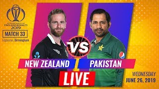 Live: New Zealand vs Pakistan Live Scores and Hindi Commentary | NZ VS PAKLive Scores