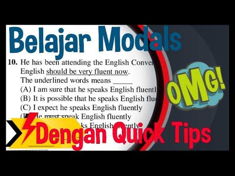 Belajar B.nggris : Materi & Contoh Soal Modals