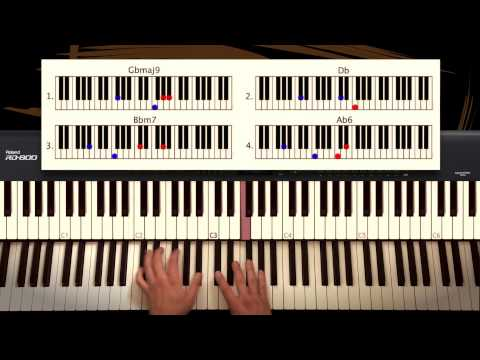 How to play: James Bay - Let it Go. PIANO version. Tutorial by Piano Couture.