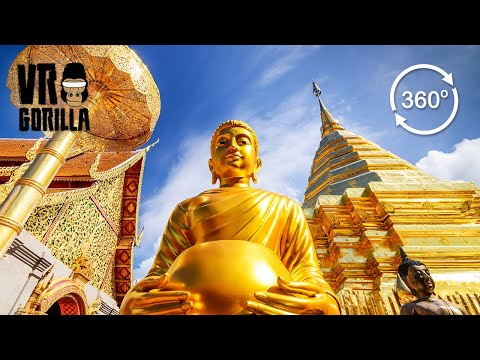 Chiang Mai & Pai: Thailand Guided Tour (360 VR Video)
