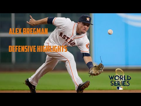 Alex Bregman Defensive Highlights (2017)