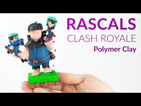 Rascals (Clash Royale) – Polymer Clay Tutorial