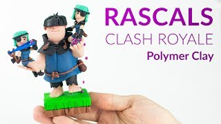 #1 Rascals (Clash Royale) - Polymer Clay Tutorial
