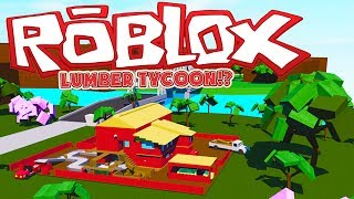 ROBLOX LUMBER TYCOON 2 ADVENTURE!? MODDED ROBLOX! | JeromeASF