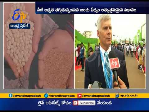 ETV Exclusive | An Interview with ICRISAT Director David Bergvinson | on AP Agritech Summit