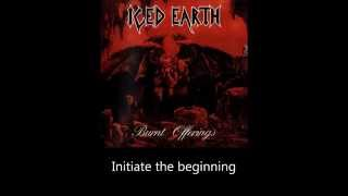 Iced Earth - Burning Oasis (Lyrics)