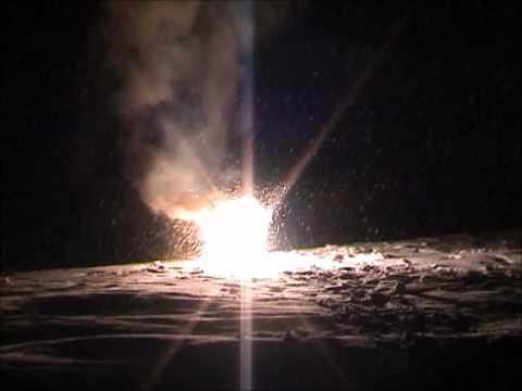 Four idiots ignite homemade Thermite