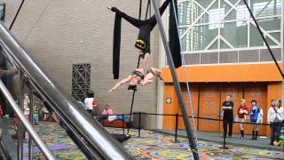Aerial Silks Duo Performance at Salt Lake Comic Con FanX