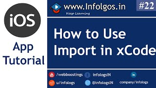 Use of Import in xCode - Tutorial 20
