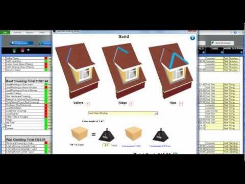 Dormer (Hip Roof) Estimating Module