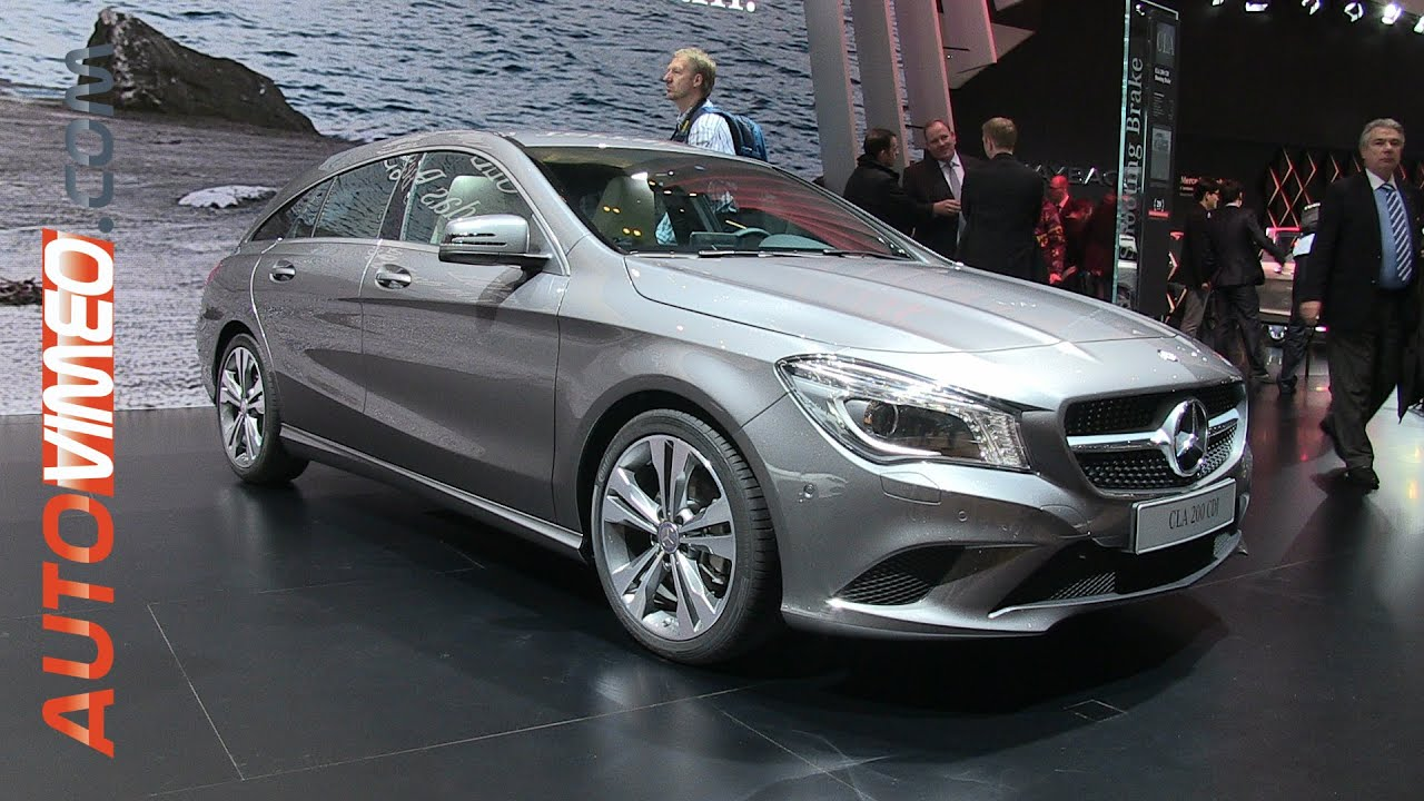 mercedes benz cla 200 cdi shooting brake 2015 autovimeo. Black Bedroom Furniture Sets. Home Design Ideas