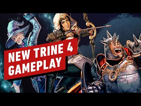 Trine 4: 11 Minutes of New Gameplay