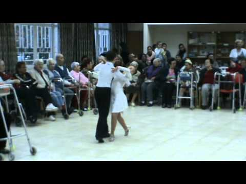 Ido and Sasha, Itay and Eva - Dancing Show - Home for the elderly - 5.2.2012