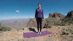 Yin Yoga Class Superstition Mountains Flatiron Hike Apache Junction AZ