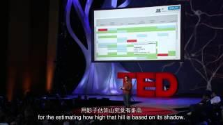 TED 中英雙語字幕:  Salman Khan:影片能改變教育