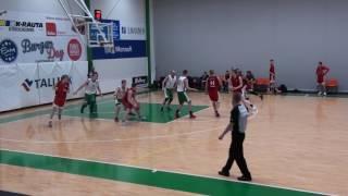 Honka - PUS-Basket, 14.01.2017