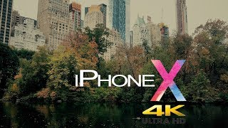CINEMATIC VIDEO: iPhone X 4K Video Test 60FPS