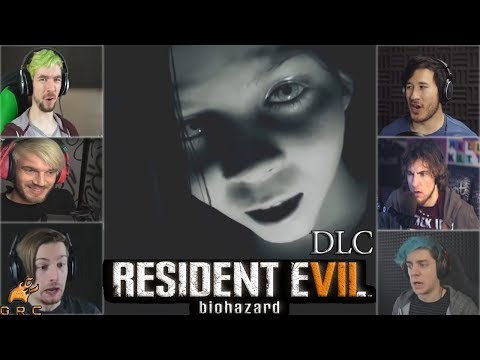 Gamers Reactions to Eveline at the Family Breakfast (Daughters DLC) | Resident Evil 7: Biohazard DLC