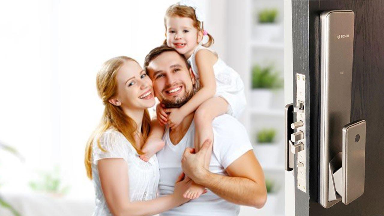 Khóa Cửa Điện tử Bosch FU780 niềm tin cậy của mọi nhà || Bosch Smart Lock