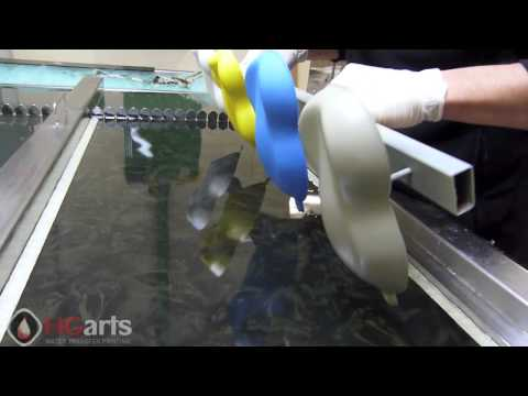 Water Transfer Printing | Carshape ABS Samples (Film: HGA-C191-1)