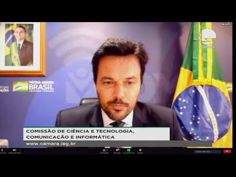 Conjunta CCTCI e CE - Edital do 5G - Ministro das Comunicações, Fábio Faria - 11/08/2021