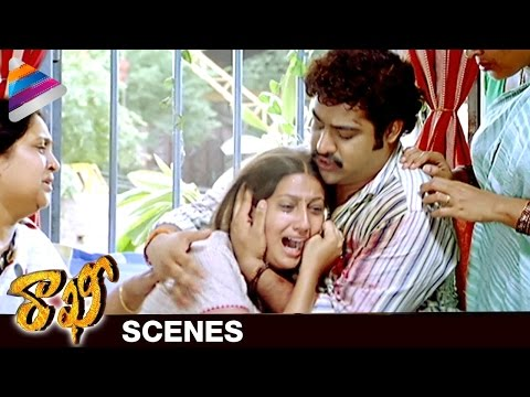 NTR gets Emotional about his Sister | Rakhee Telugu Movie Scenes | Ileana | Telugu Filmnagar