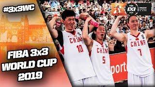 China v Hungary | Women's Full Final Game | FIBA 3x3 World Cup 2019
