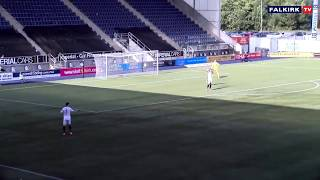 """بالفيديو.. حارس اسكتلندي يكرر خطأ """"أدريان ليفربول"""" في نفس التوقيت"""