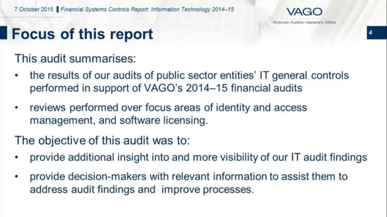 auditing information technology systems