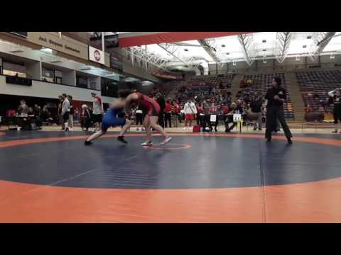 2016 Dino Invitational: 63 kg Alicia Kaegi vs. Megan Fendelet