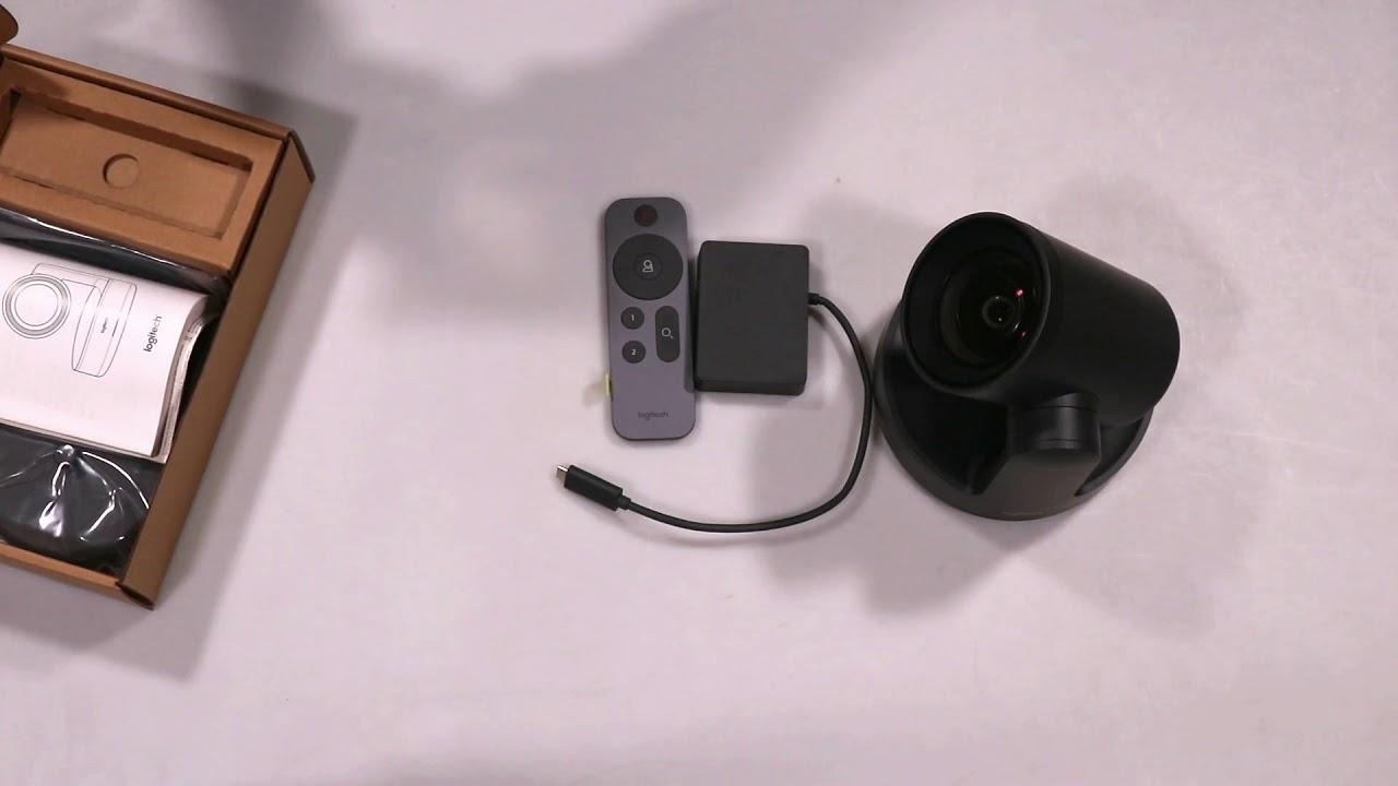 Unboxing Logitech Rally Camera 960-00122