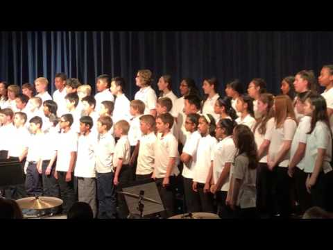 Spring concert valley forge middle school 6 grade chorus Circle of Life
