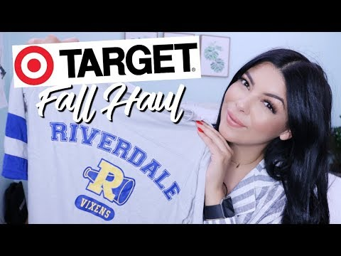 NEW! TARGET FALL HAUL 2018 | AFFORDABLE FASHION, CLEANING  AND BEAUTY PRODUCTS! | SCCASTANEDA