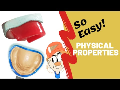 Physical Properties Of Dental Materials | SO EASY |