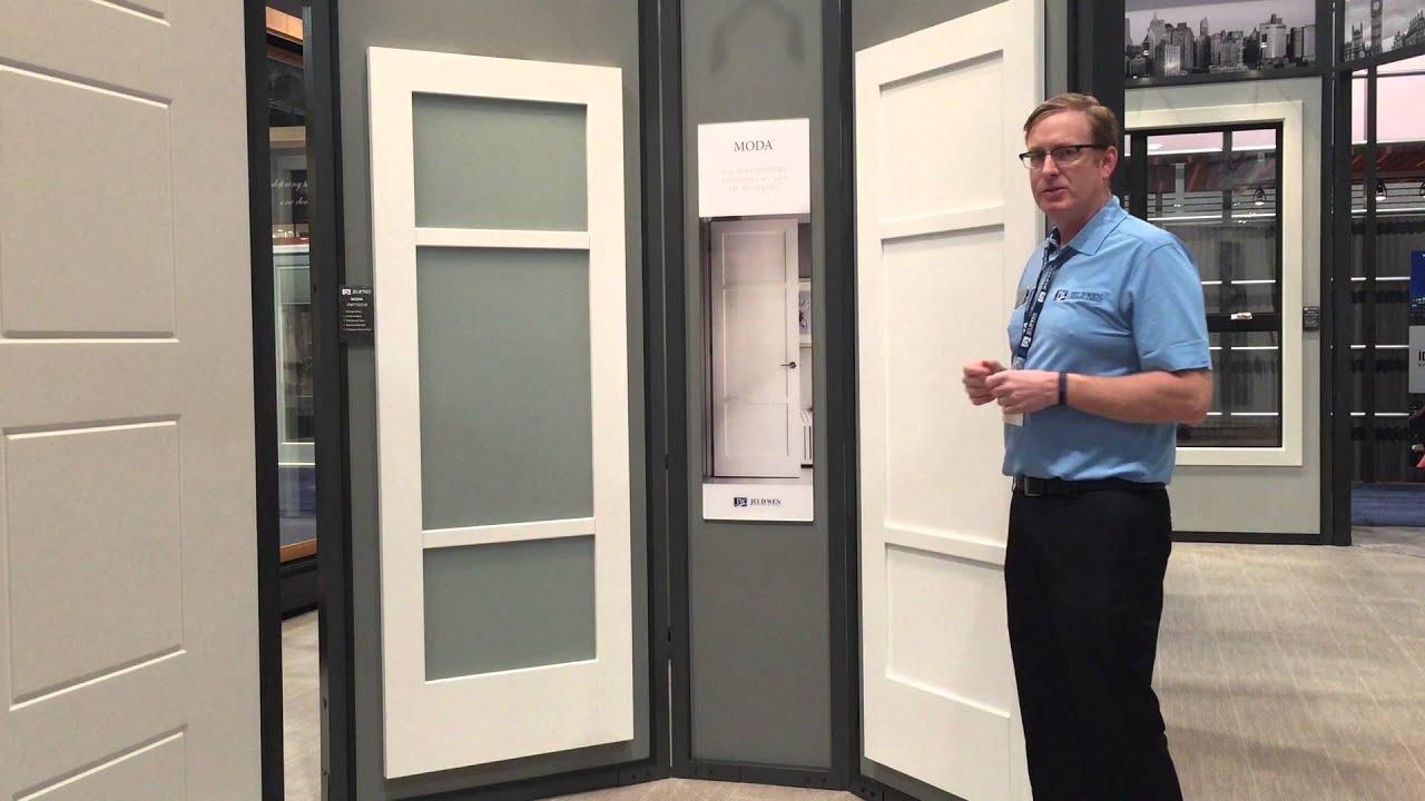 Contemporary Clean Lines With Jeld Wen Moda Door