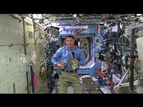 Space Station Commander Celebrates Thanksgiving in Orbit
