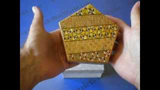 A Pentagon Japanese Secret Puzzle Box