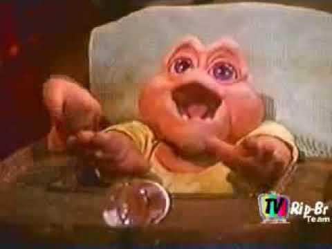 Baby com fome   Família Dinossauro