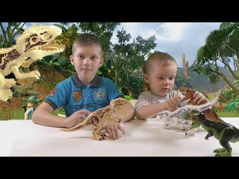 Индоминус рекс обзоры игрушек.Собираем аналог лего Динозавров.Мир Юрского Периода.#Легоигрушки