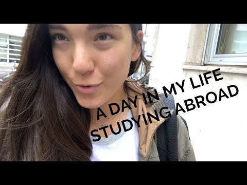 A DAY IN MY LIFE STUDYING ABROAD IN PARIS