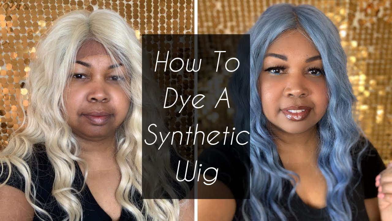 How to Dye a Synthetic Wig – Silky Saks LLC