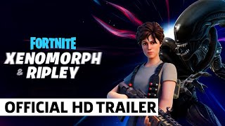 Fortnite Ripley And The Xenomorph Trailer