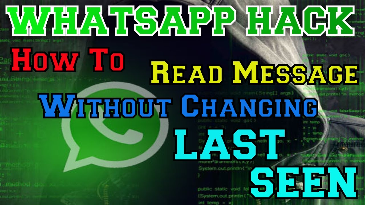 Whatsapp | How to Read Message without changing Last Seen | Tips & Tricks