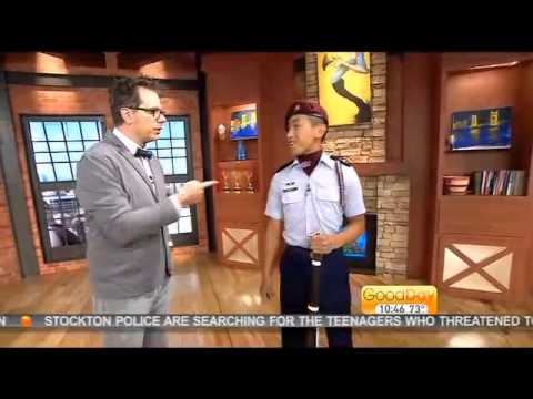 Drill Team Cadet Major Fong Thao -Good Day Sacramento-