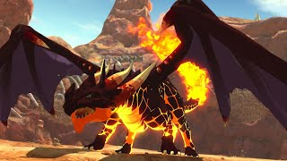 Taking Down a Giant Incineraptor - Ni No Kuni 2: Revenant Kingdom Gameplay