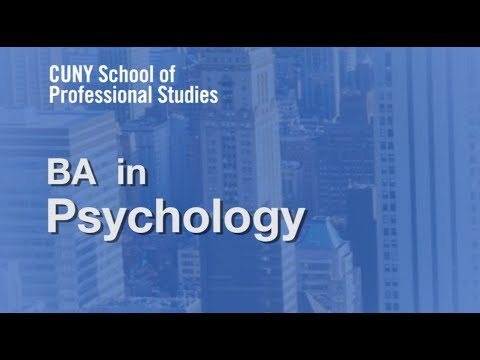Online Information Session  BA in Psychology Degree